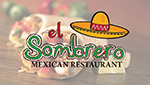 El Sombrero Mexican Restaurant App Deal