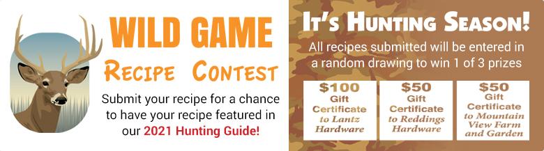 Wild Game Recipe Contest