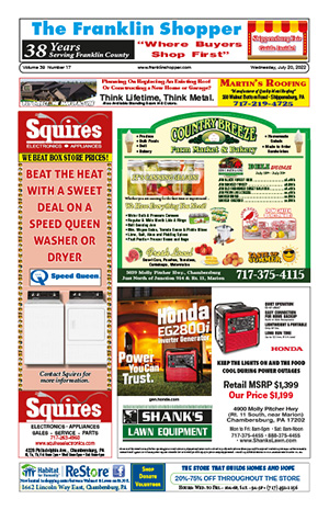 Northern Franklin County, PA Digital Editions