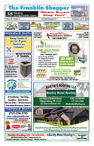 Southern Franklin County, PA Digital Editions