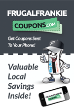 Frugal Frankie's Coupon Book