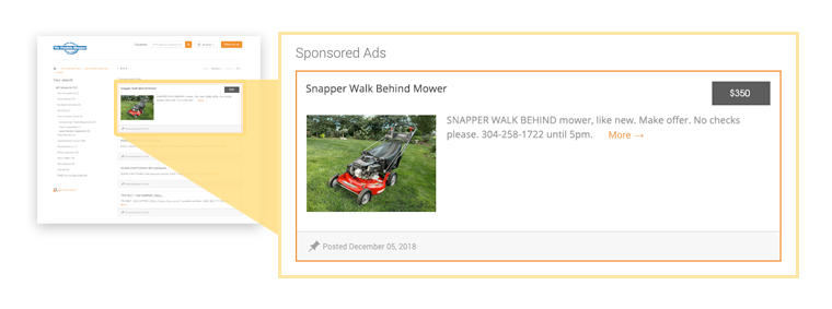 Sponsored Ad Enhancement