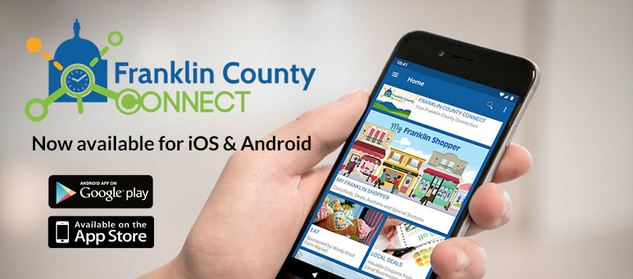 Franklin County Connect Mobile App Available for Download on iOS & Android