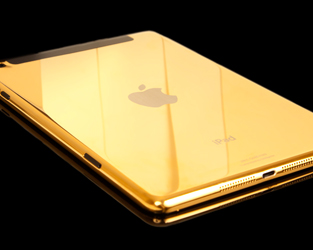 Gold Apple iPad Mini Giveaway