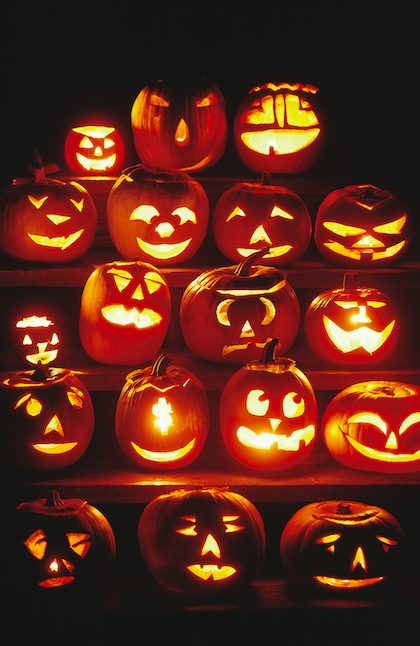 Preserve Carved Pumpkins in Various Ways