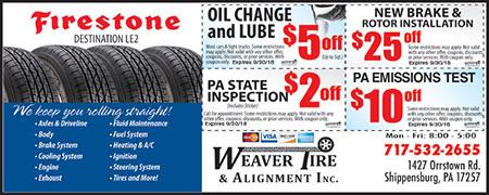 Weaver Tire & Alignment