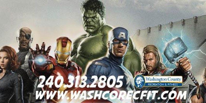 Washington County Recreation Super Hero Party
