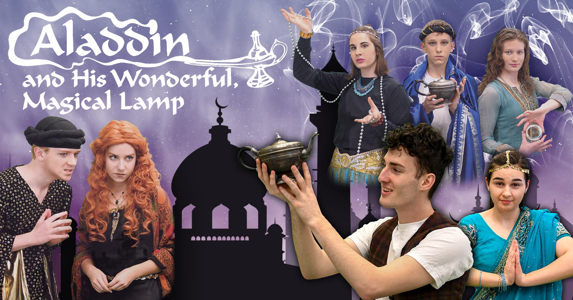 Aladdin and His Wonderful, Magical Lamp