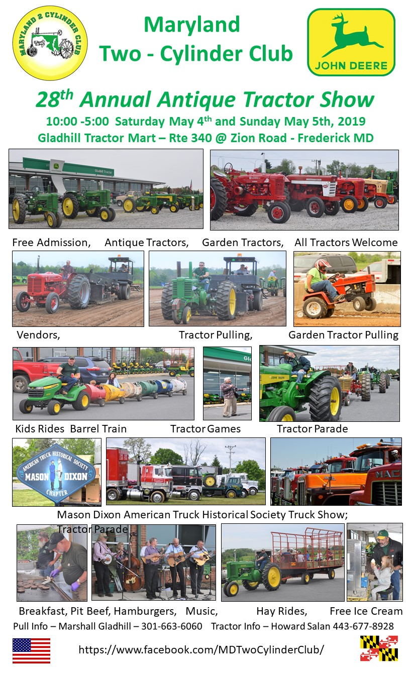28th Annual Maryland Two-Cylinder Club Antique Tractor Show