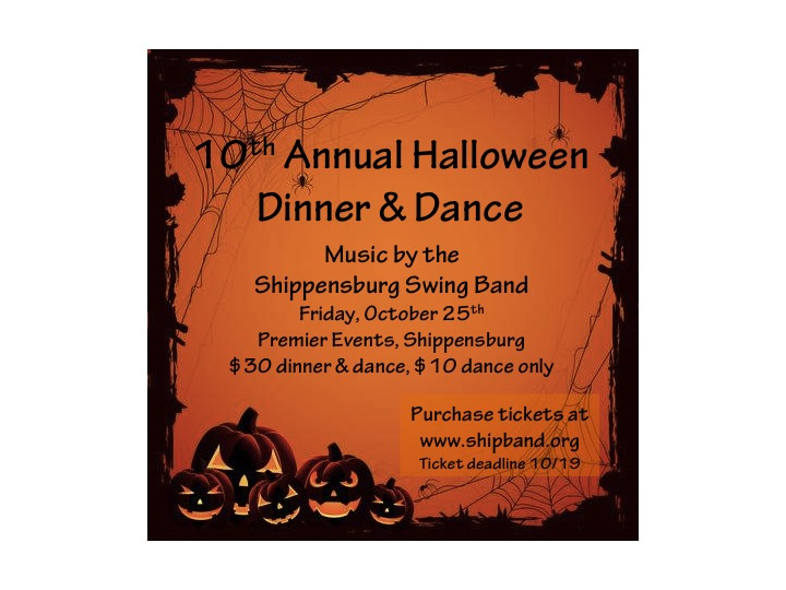 Halloween Dinner and Dance