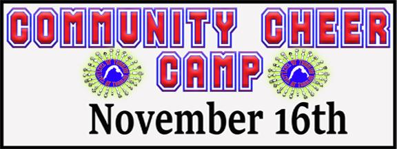 Community Cheerleading Camp