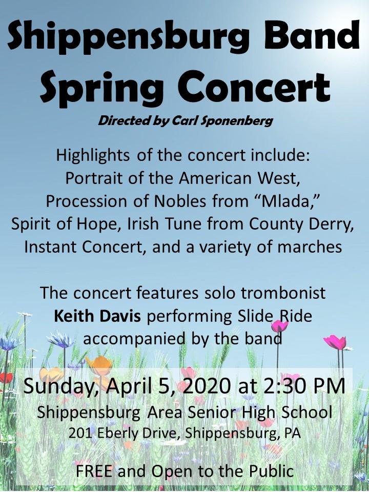 Shippensburg Band Spring Concert