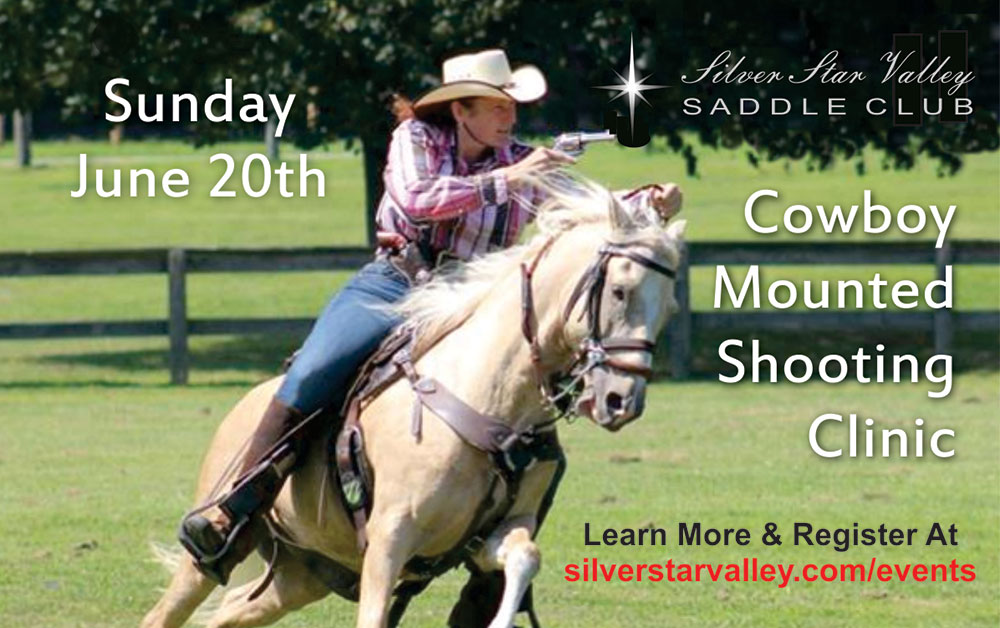 Cowboy Mounted Shooting Clinic