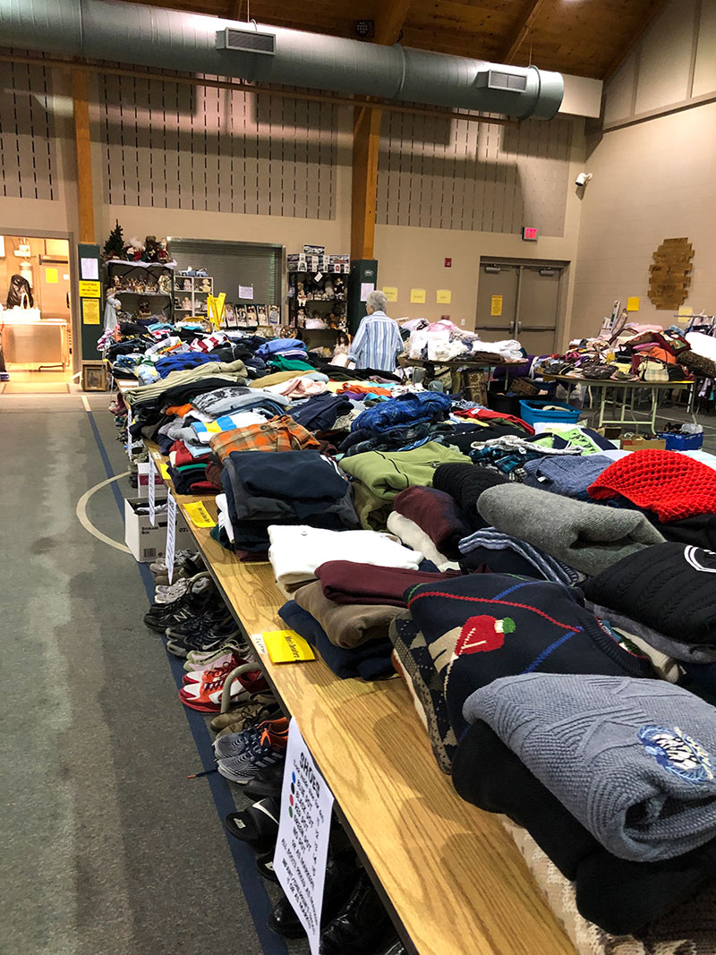 Giant Yard Sale for Missions