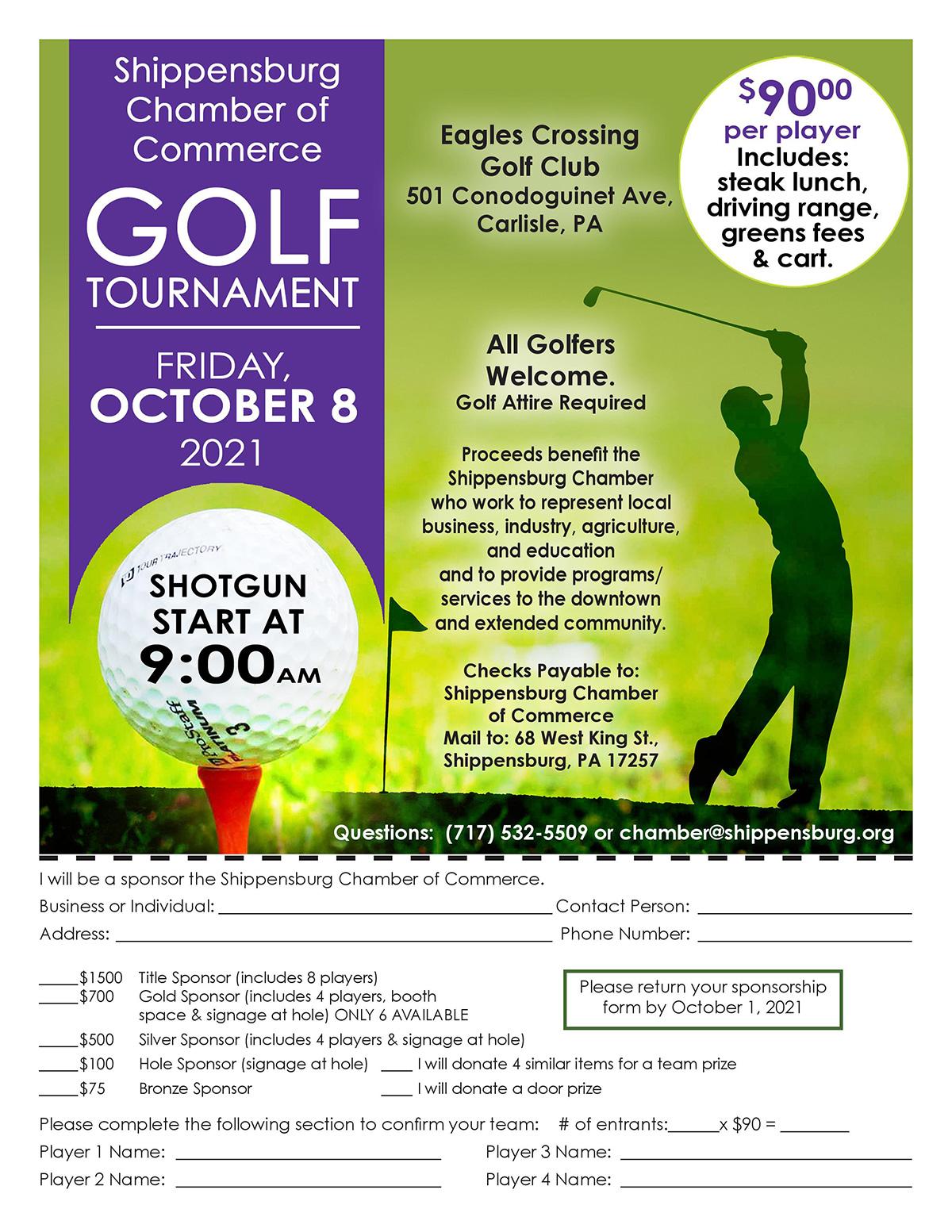 Shippensburg Chamber of Commerce Golf Tournament