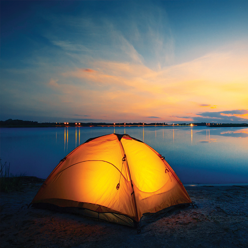 Scenic Campgrounds Across North America