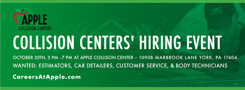 Collision Centers' Hiring Event