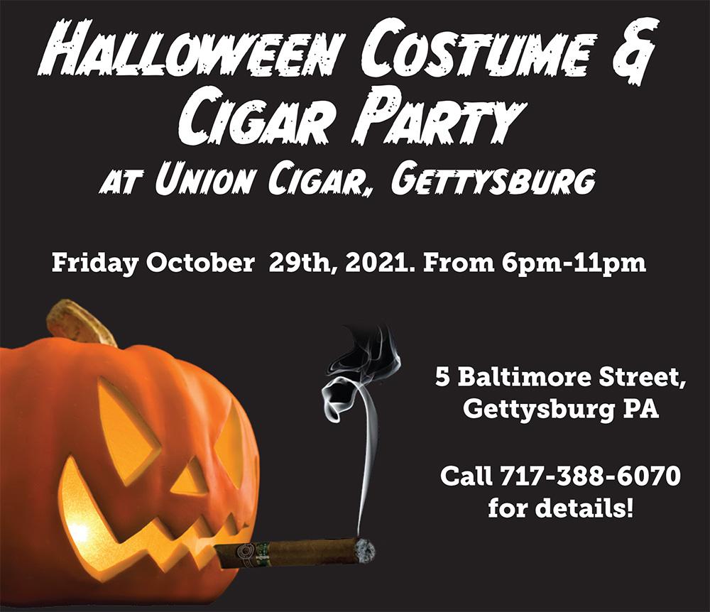 Halloween Costume & Cigar Party